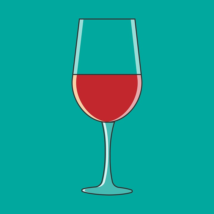 Wine, Glass, Bar, Bottles, Alcohol, Red