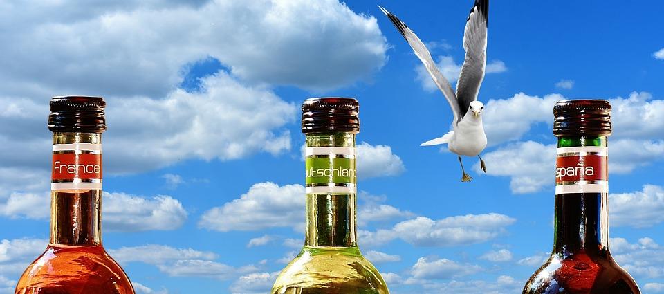Wine, Drink, Restaurant, Weinstube, Alcohol, Bottles