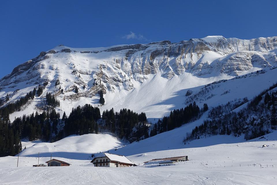 Ski Area, Brienzer Rothorn, Switzerland, Bottom Station