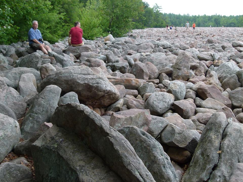 Boulders, Boulder Field, Rock, Stone, Natural, Rocks