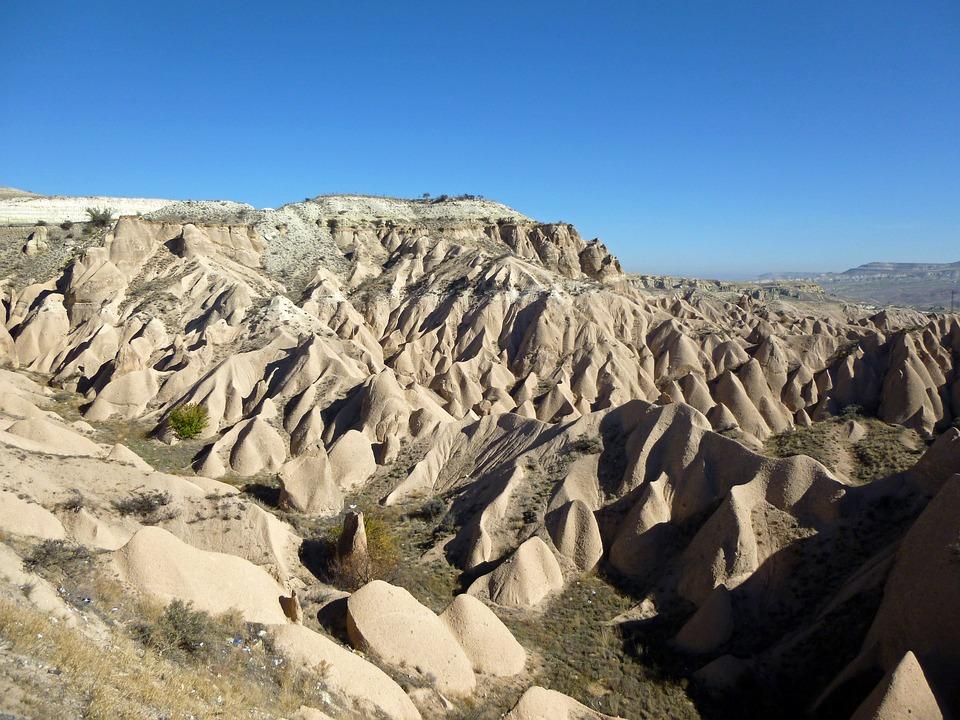 Cappadocia, Stones, Cliff, Boulders, Rock