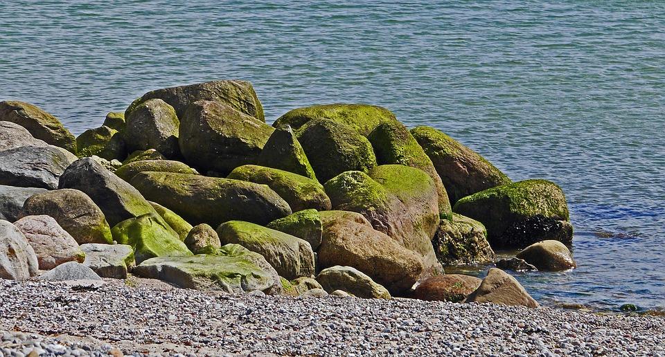 Baltic Sea, Pebble Beach, Coast Guard, Rock, Boulders