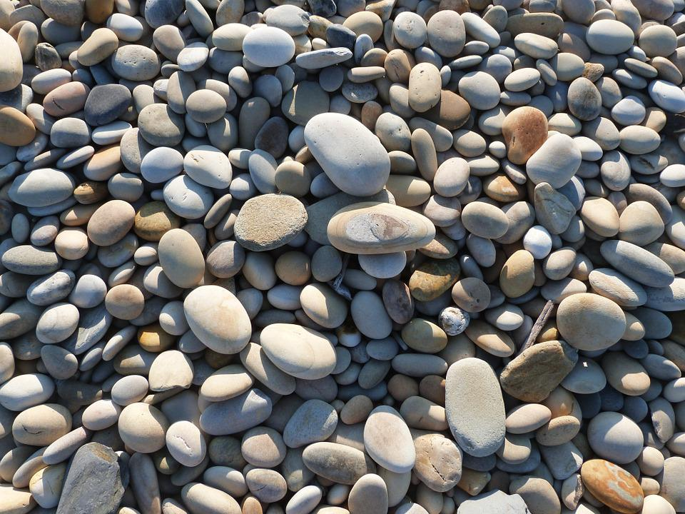 Stone, Boulders, Beach, Stones