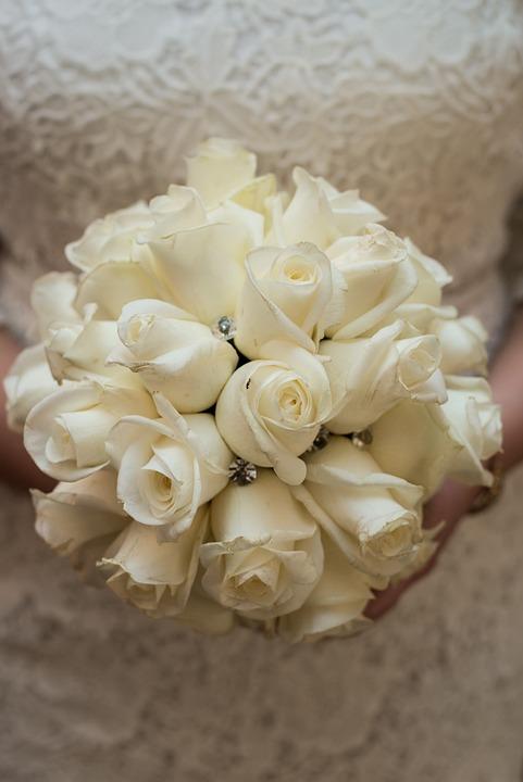 Bouquet, Wedding, Bride, Bouquet Of Flowers, Decoration