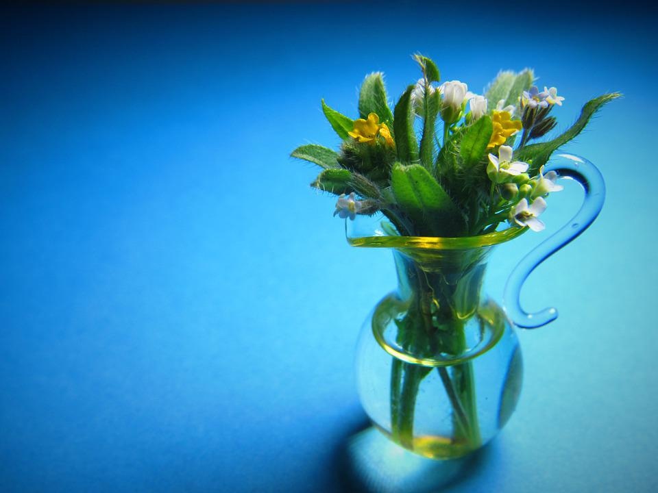 Mini, Bouquet, Small, Tiny, Miniature, Macro, Closeup