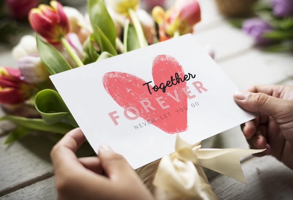 Art, Bouquet, Bouquet Of Flowers, Card, Cute, Dating