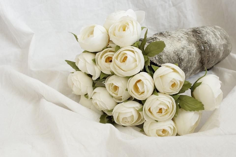 Flowers, Roses, Pink, Love, Bouquet, Beauty, Wedding