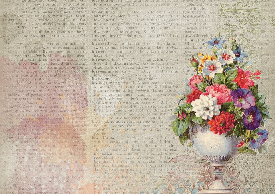 Free photo Bouquet Pink Vintage Flower Vase Pot Background - Max Pixel
