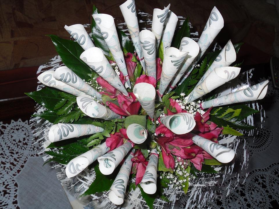 Free photo Bouquet Wish Money - Max Pixel