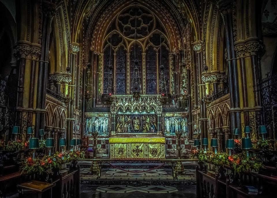 St Peter's Church, Interior, Bournemouth, Architecture