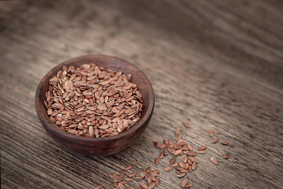 Flax Seed, Seeds, Eat, Healthy, Bowl, Food, Bowls