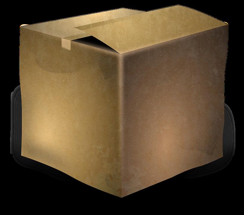Cardboard Box, Box, Cardboard, Package, Parcel, Brown