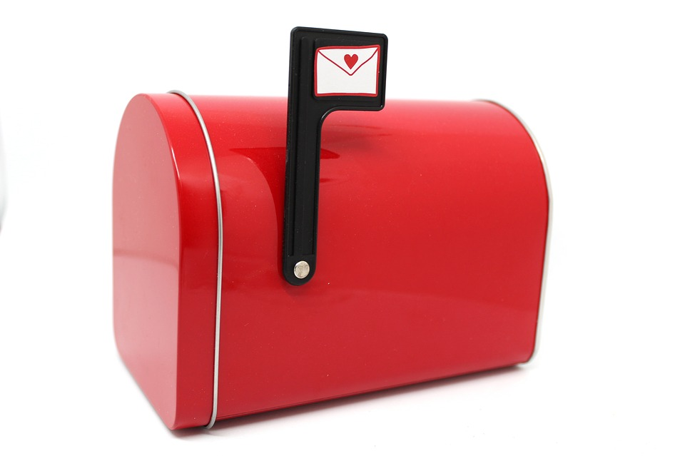 Free Photo Box Mail Letter Mailbox Closed Red Mailbox Max Pixel