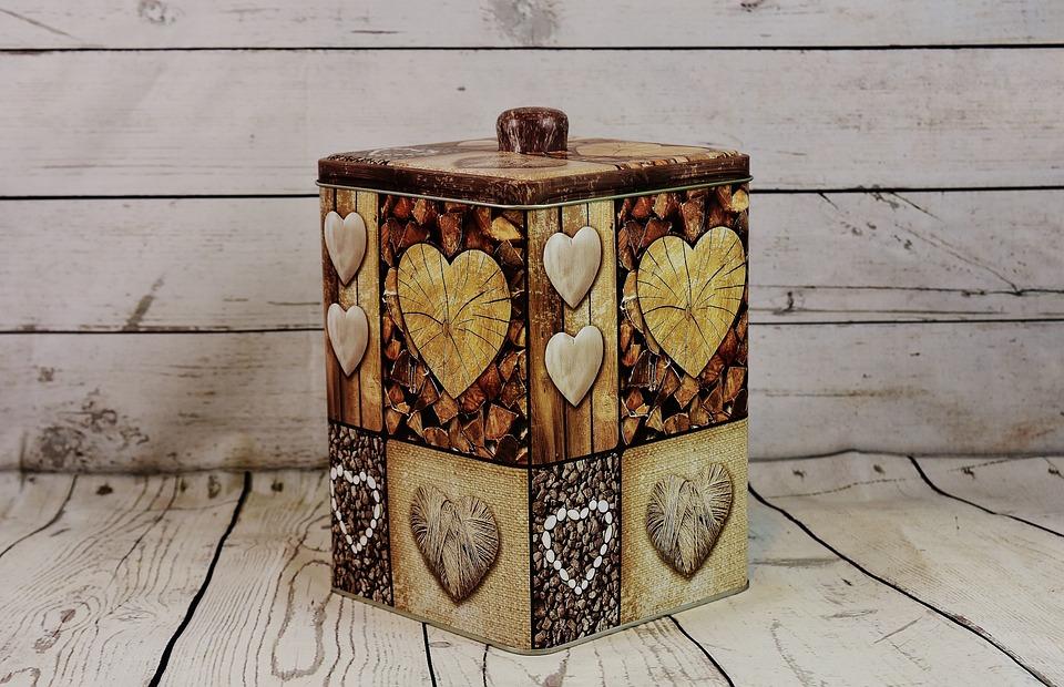 Box, Storage, Küchendeko, Cookie Jar, Tin Can, Store