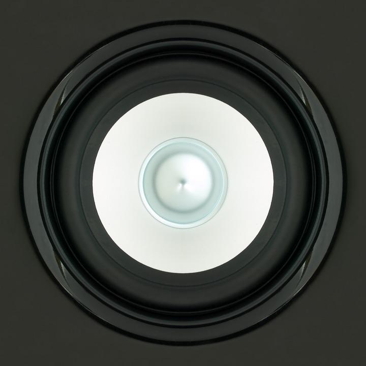 Speakers, Sound, Box, Black, White, Close, Square