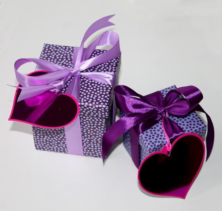 Packages, Gifts, Boxes, Love, Surprises, Wrapping