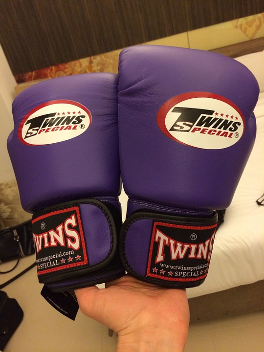 Gloves, Boxing, Ring, Boxing Bandages, Boxing Gloves