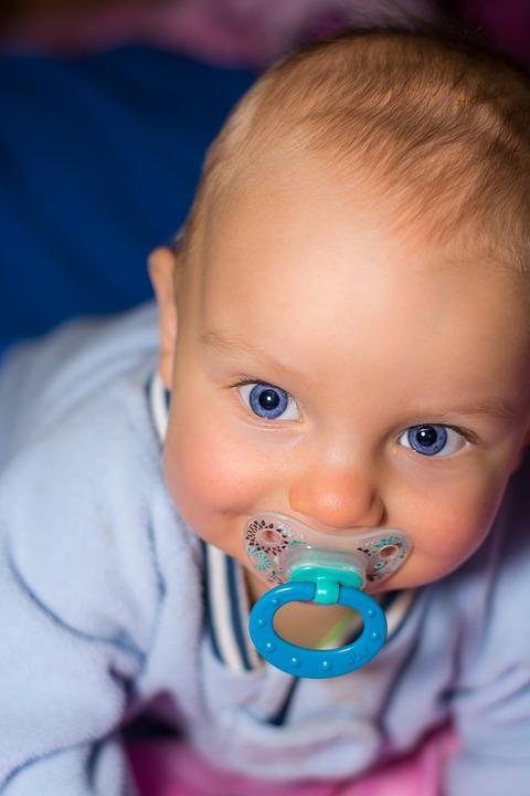 Baby, Boy, Small, Face, Child, Portrait, Blue Eye
