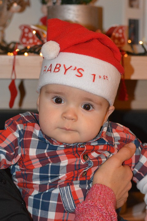 baby child people boy christmas christmas hat