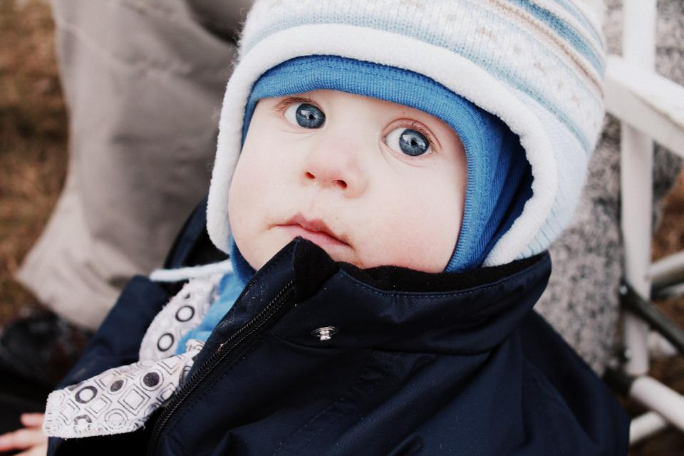 Lovely, Small, Eyes, Camera, Boy, Blue, Love, Sweet