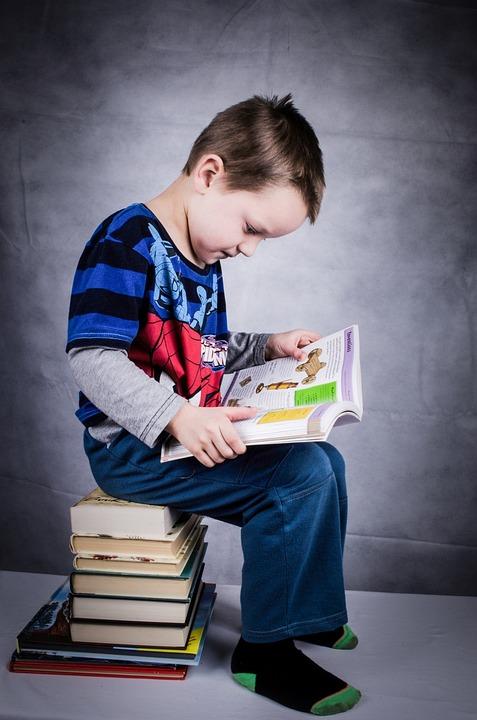 Child, Book, Boy, Studying, Educational, Wisdom