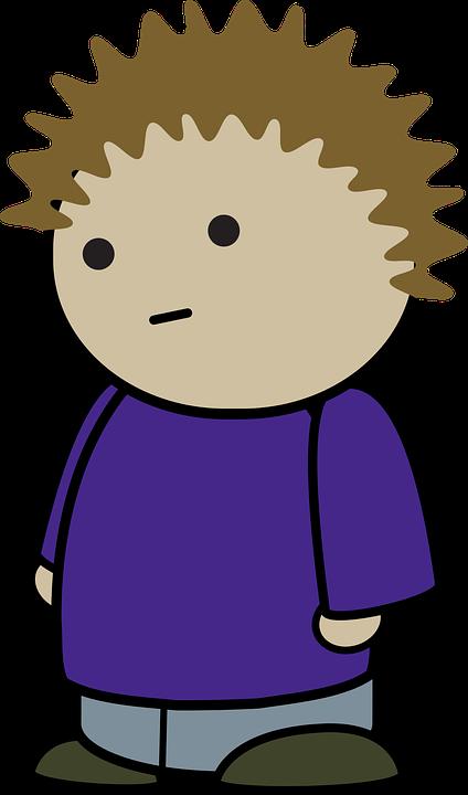 Boy, Character, Comic Characters, Punk, Side