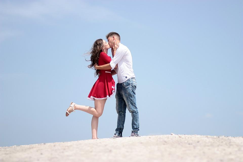 Couple, Love, Kiss, Girl, Boy, Romance, Beauty