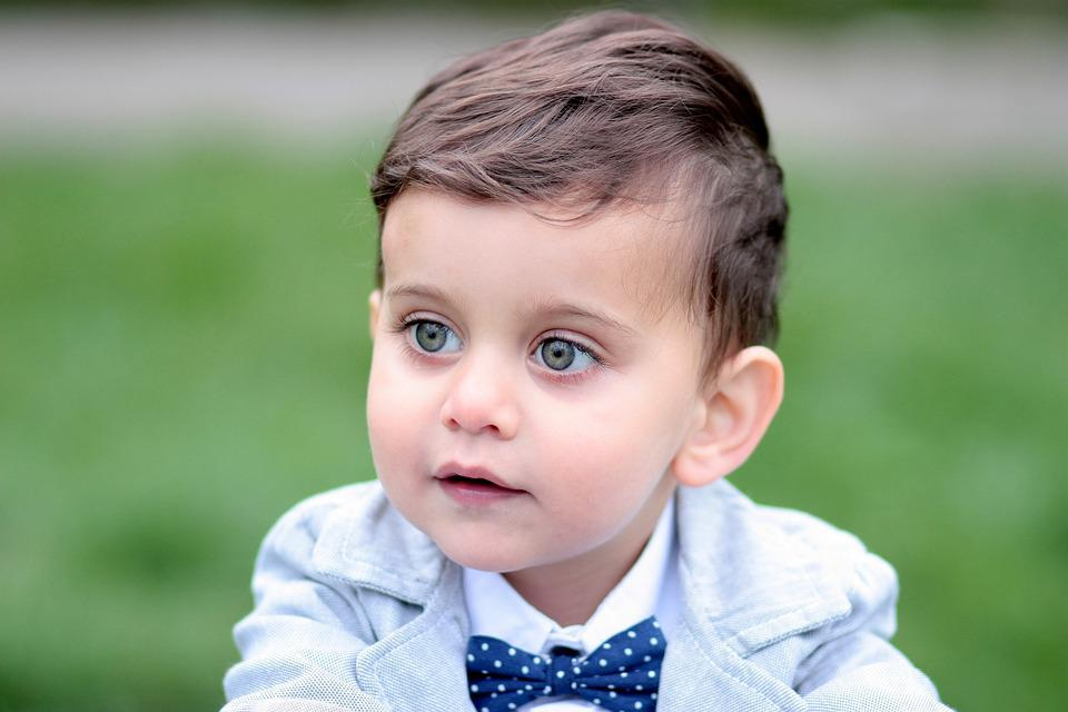 Boy, Toddler, Green Eyes, Portrait, Nice