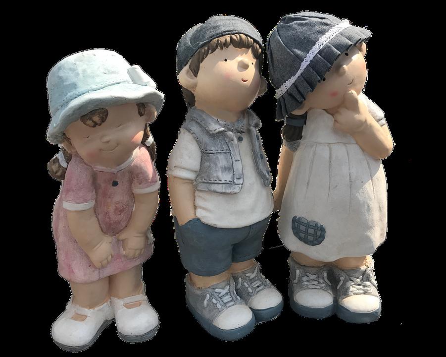 Children, Figurines, Dolls, Ornaments, Decoration, Boy