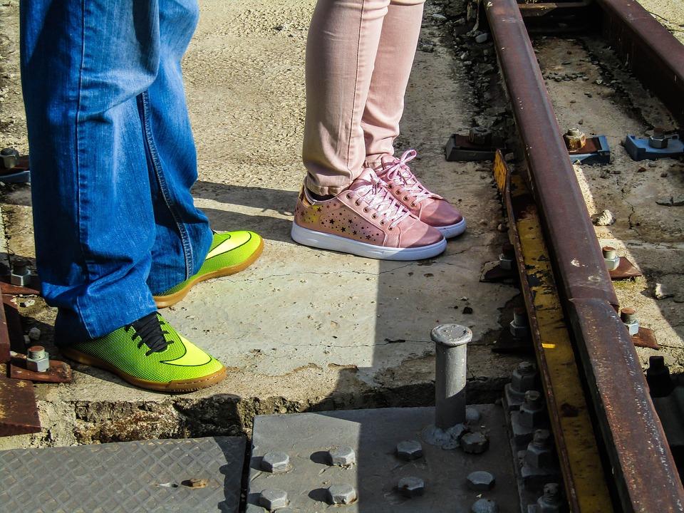 Shoes, Run, People, Footwear, Sports, Guy, Girl, Boy