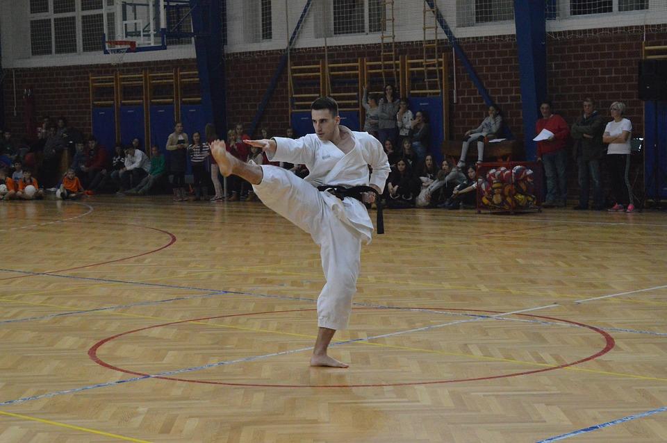 Sport, Karate, Training, Man, Boy, Person