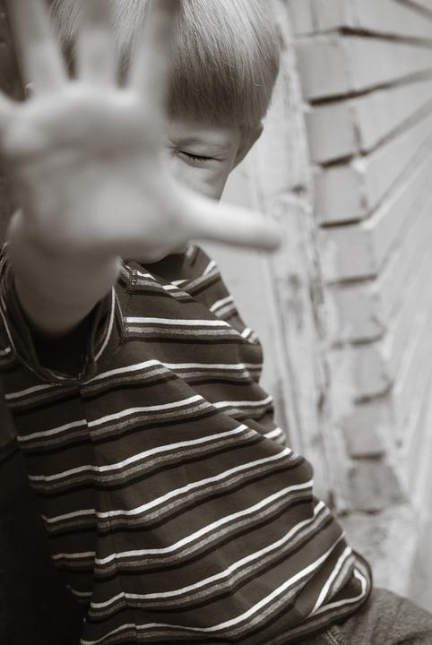 Boy, Child, Young, Person, Hand, Stop, Stop Bullying