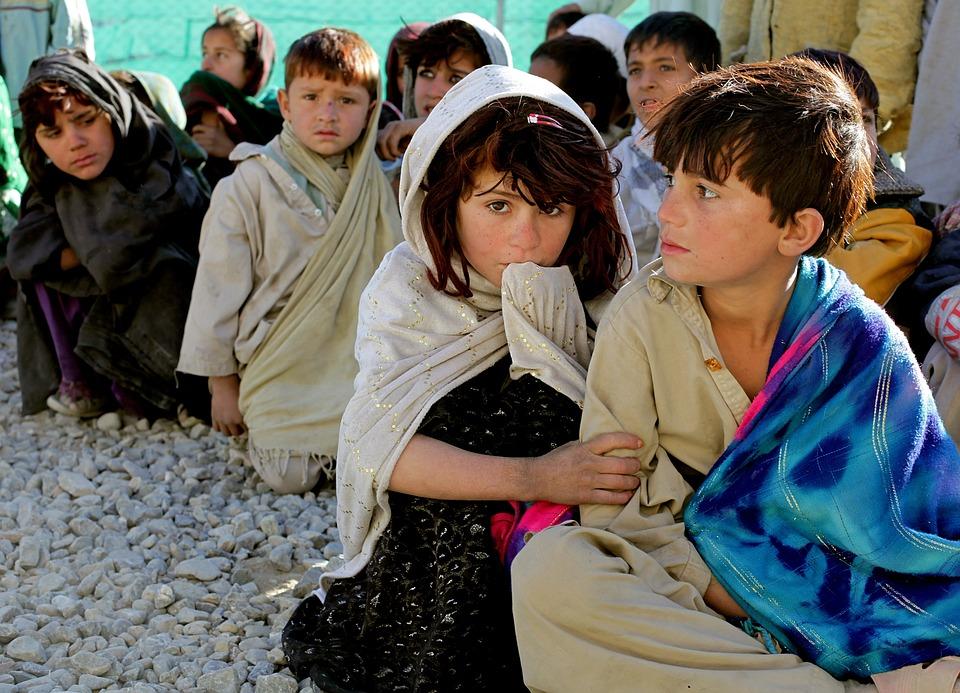 Children, Afghanistan, Afghani, Girl, Boy, Poverty
