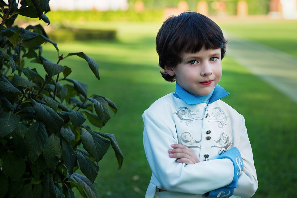 Prince, Boy, Costume, Childhood, Story, Elf, Portrait