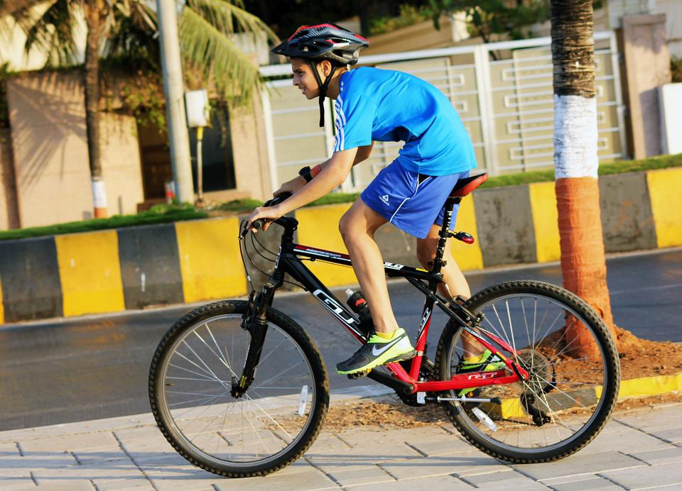 Bicycle, Rider, Child, Boy, Leisure, Ride, Activity