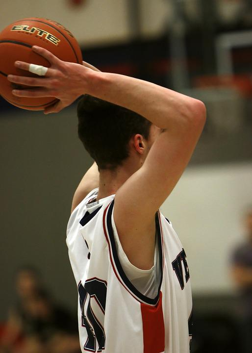 Basketball, High School, Game, Sport, Boy, Teenager