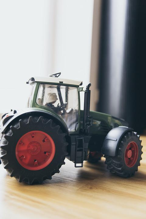 Toys, Tractor, Play, Tractors, Boy, Vehicles