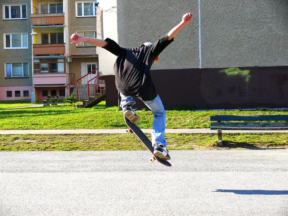 Skateboarding, Skateboard, Boy, Sport, Teenager, Youth
