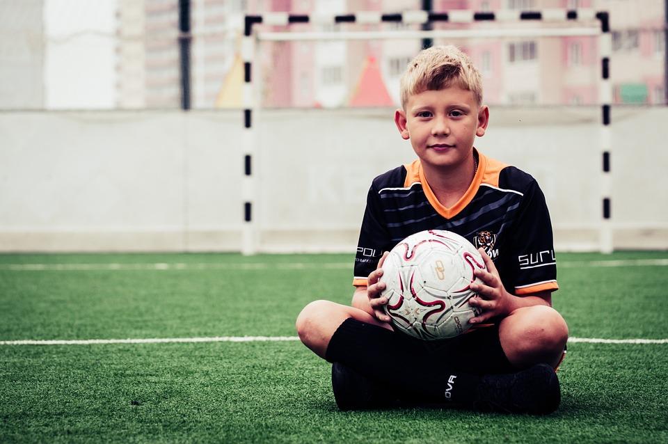 Boy, Football, Sports, Baby, Play, Boys, Field, Athlete