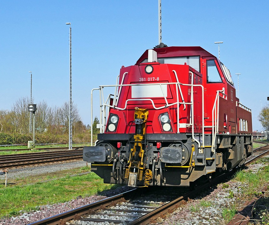 Diesel Locomotive, Switcher, Modern, Br261, Br 261