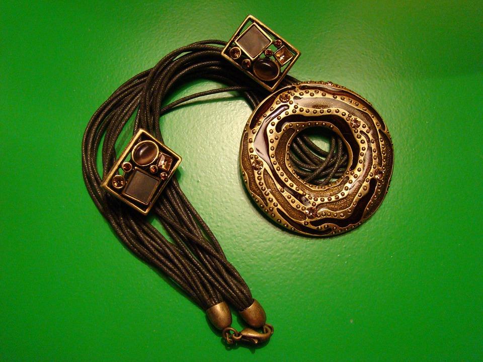 Bracelet, Ornament, Leather