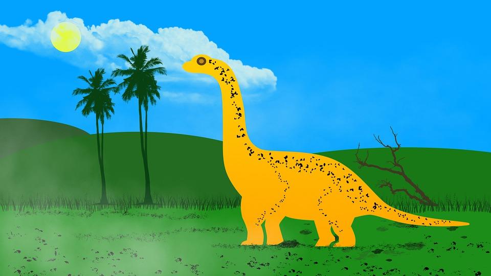 Dinosaur, Extinct, Brachiosaurus, Animal, Prehistoric