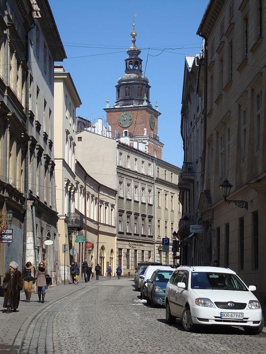 Kraków, Poland, Bracka, The Old Town, Architecture