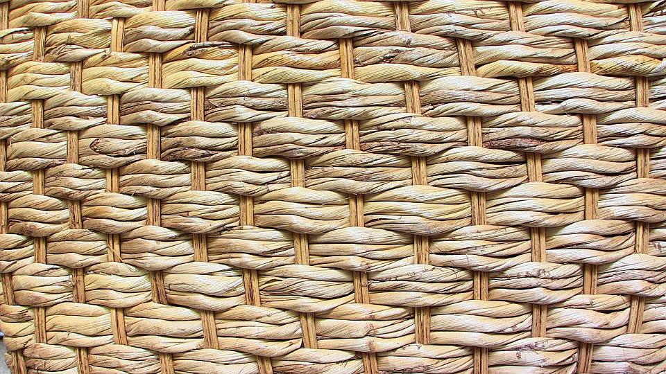 Basket, Braided, Background, Pattern, Texture