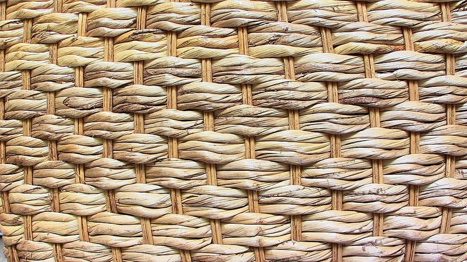 Basket, Braided, Background, Pattern, Texture