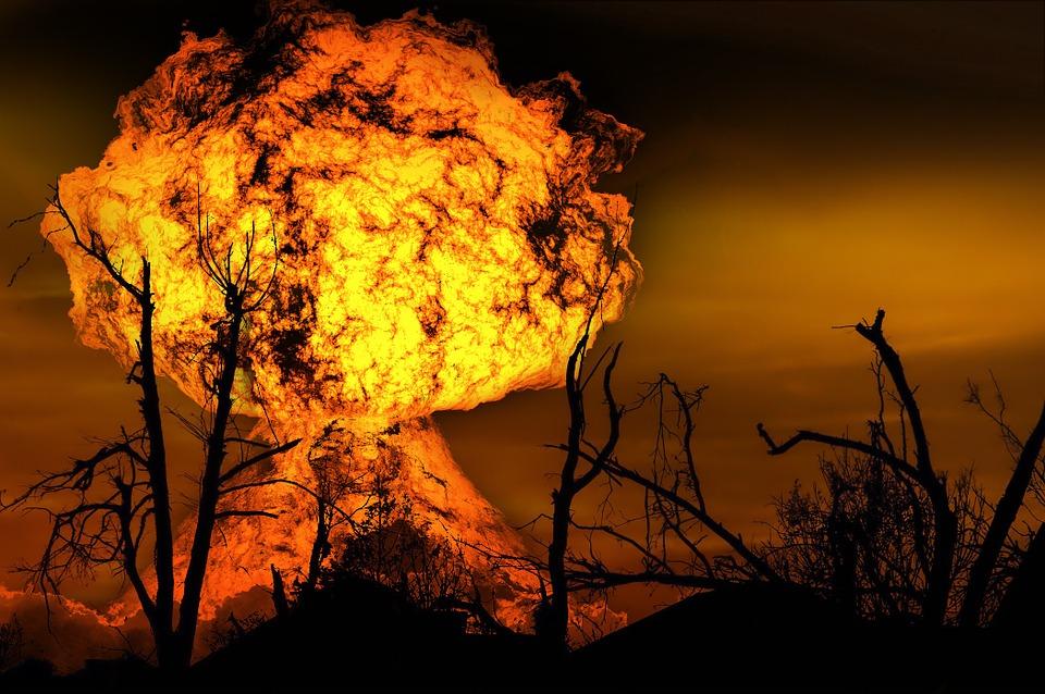 Explosion, Fireball, Fire, Brand, Aesthetic, Strains