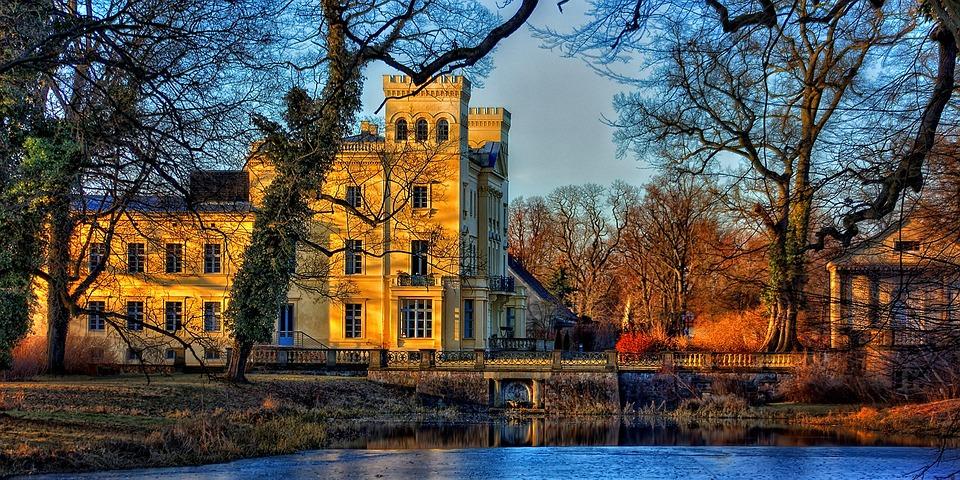 Castle, Steinhöfel, Brandenburg, Germany