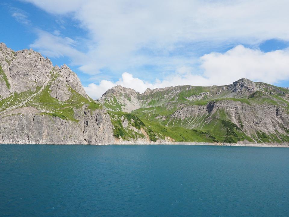 Luenersee, Schafgafall, Brandnertal, Vorarlberg