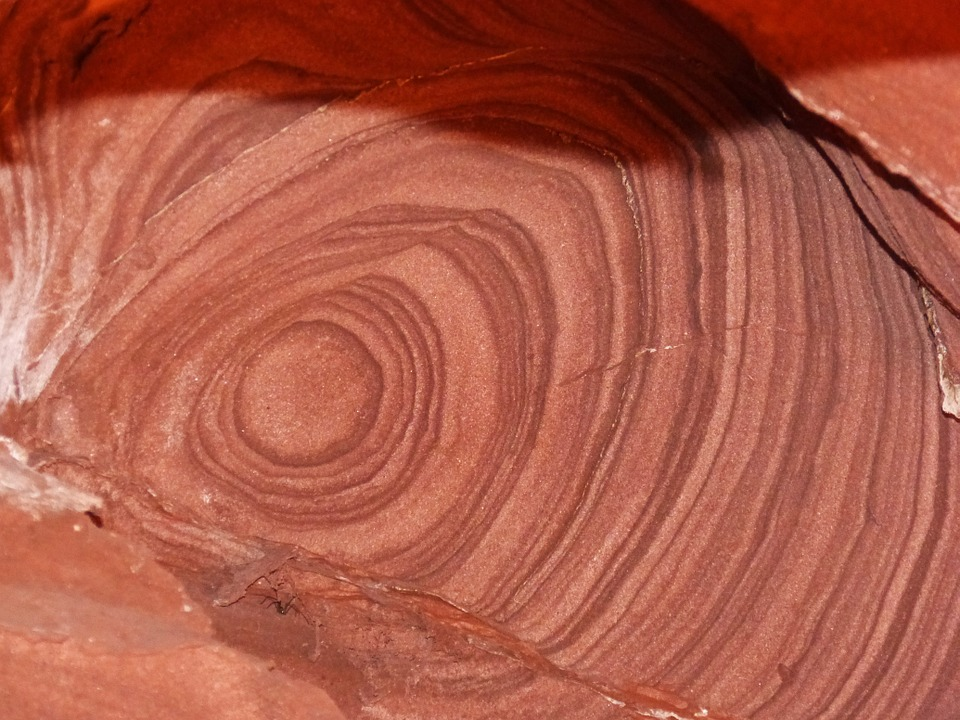Red Sandstone, Brands, Cave, Erosion, Texture