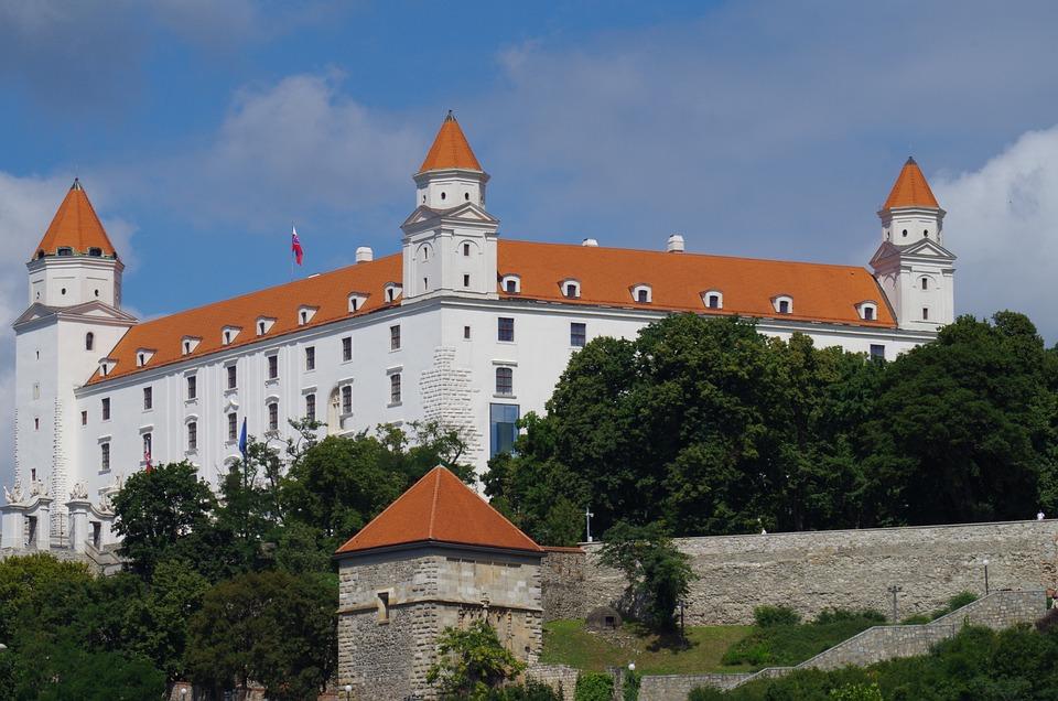 Bratislava, Slovakia, Castle, City
